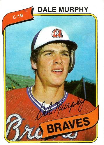 1980 Topps #274 ~ Dale Murphy