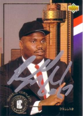 Russell Maryland autographed Dallas 1994 Upper Deck card