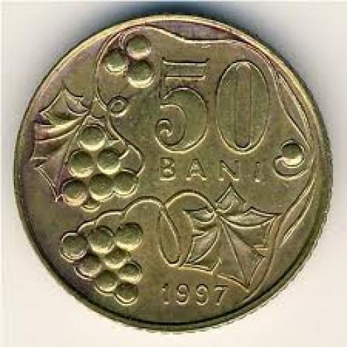 Coins;  Moldova, 50 bani, 1997–2008 ...