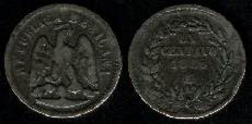 1 Centavo 1869-1897 (km 391)