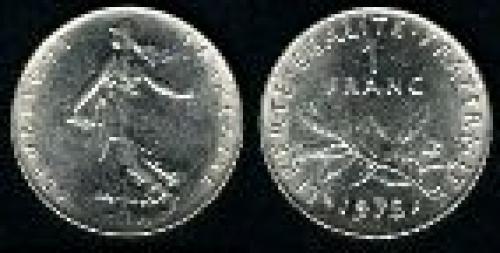 1 franc; Year: 1960; (km 925.1)