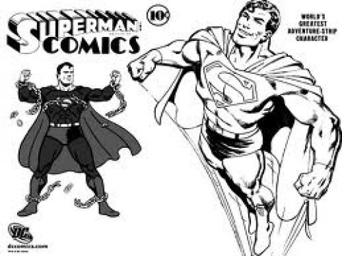 Comics; Superman Comics wallpapers and stock photos
