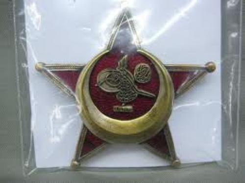 Militaria; Badges Turkish