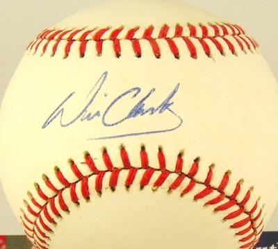 Will Clark autographed NL baseball