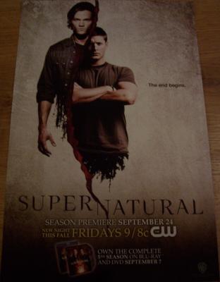 Supernatural 2010 Comic-Con promo poster