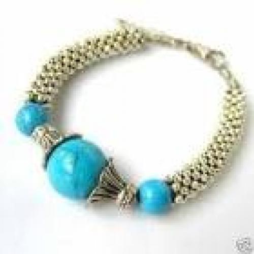 Ethnic Turquoise Bracelet