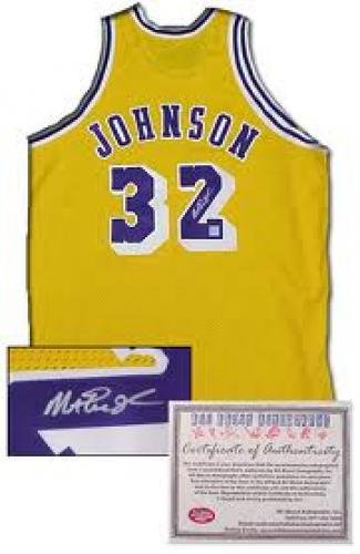 Memorabilia; Magic Jonhson; NBA Memorabilia - Autographed