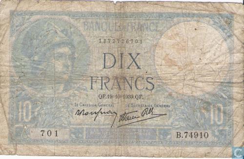 France 10 Francs