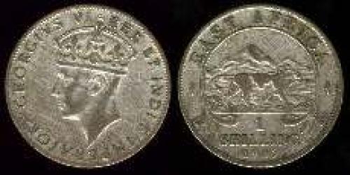 1 shilling; Year: 1937-1946; (km 28)