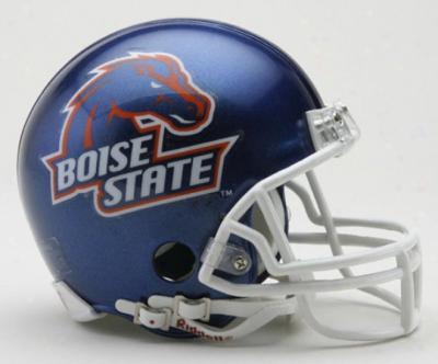 Boise State Broncos Riddell mini helmet NEW IN BOX