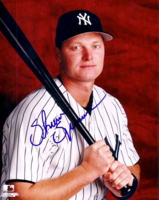 Shane Spencer autographed 8x10 New York Yankees photo
