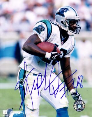 Stephen Davis autographed 8x10 Carolina Panthers photo