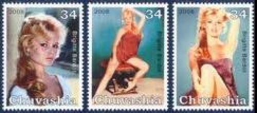 Brigitte Bardo Stamps