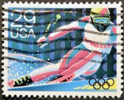 Stamps; UNITED STATES OF AMERICA - CIRCA 1992: A stamp printed