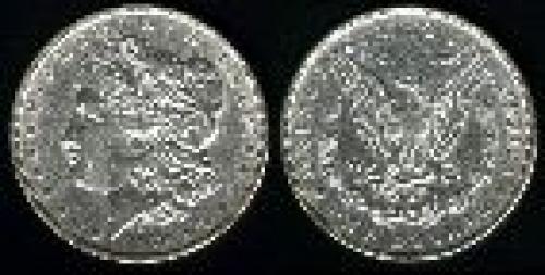 1 dollar; Year: 1878-1921; Morgan