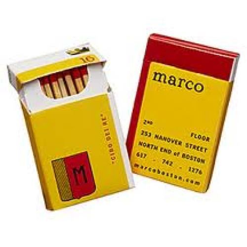 Matchboxes Slim Flip-Top