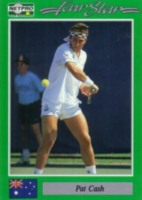 Pat Cash 1991 Netpro card