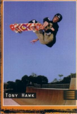 Tony Hawk Sports Illustrated for Kids Frosted Flakes card