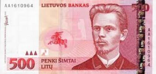 Banknotes; 50 Litu: Banknotes Lithuania