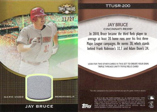 Jay Bruce Relic /27
