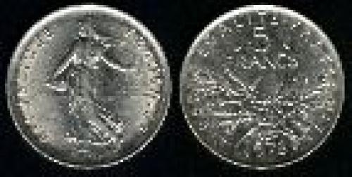 5 francs; Year: 1970-1997; (km 926a.1)