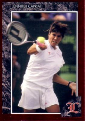 Jennifer Capriati 1992 Legends card