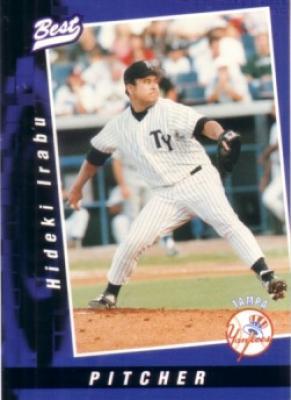 1997 Tampa Yankees Best minor league 33 card team set (Hideki Irabu)