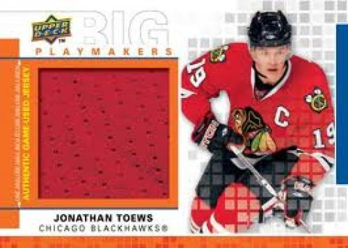 First look: 2009-10 Upper Deck hockey cards; Jonathan Toews; Chicago Blackhawks