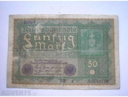 Germany 50 marks 1919