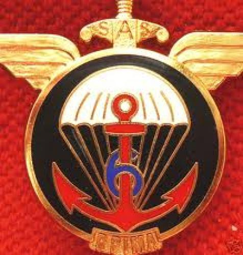 Militaria; FRENCH NAVY PARACHUTE QUAL BADGE
