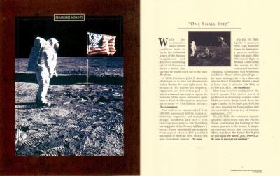 1969 Neil Armstrong Apollo 11 moon landing 8x10 photo