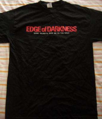 Edge of Darknesss movie promo T-shirt (Mel Gibson)