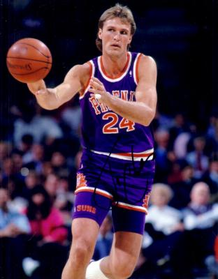 Tom Chambers autographed 8x10 Phoenix Suns photo
