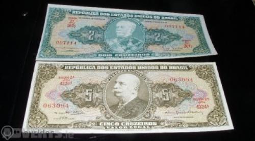 Brazil 2 pcs banknote