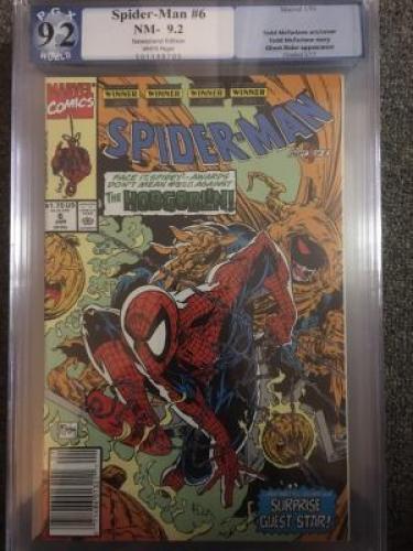 Spider-Man #6  *PGX 9.2