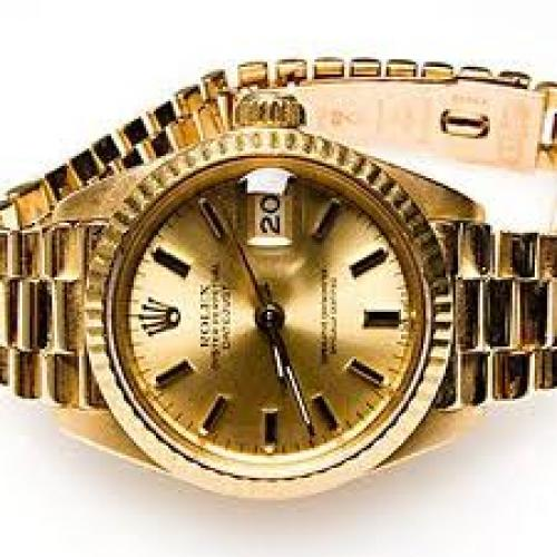 Watches; 1980 Rolex Datejust 69178 Watch Ladies Presidential 18K Gold