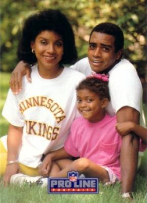 Rashad Family 1992 Pro Line Portraits Collectible insert card #1