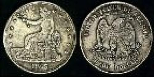 1 dollar; Year: 1873-1883; Trade