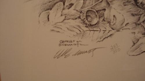 Charles Schwartz Wildlife print