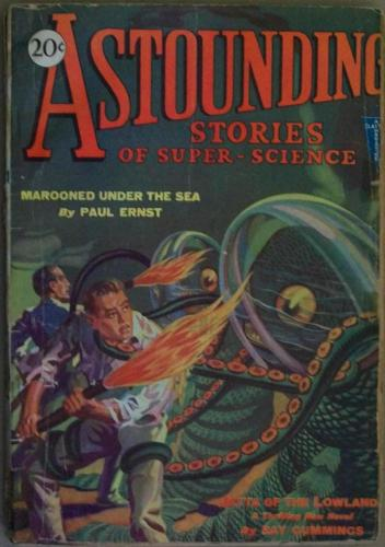 Pulp Magazine for sale: Astounding Sept. 1930 Clayton Ninth Issue