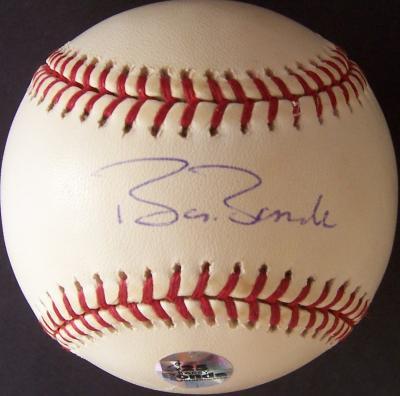 Barry Bonds autographed MLB baseball (TriStar)