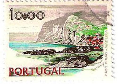 Portugal 10$00 1974 (front)