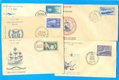 Mercantile Ship FDC