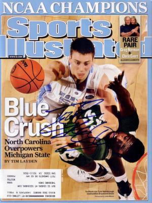 Tyler Hansbrough autographed 2009 North Carolina NCAA Champions Sports Illustrated