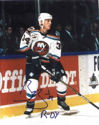 Bryan Berard autographed New York Islanders 8x10 photo