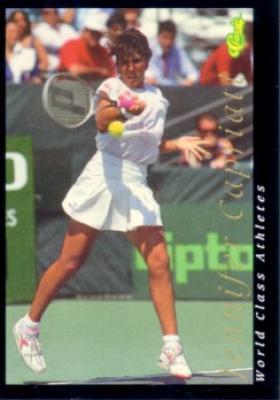 Jennifer Capriati 1992 Classic World Class Athletes card