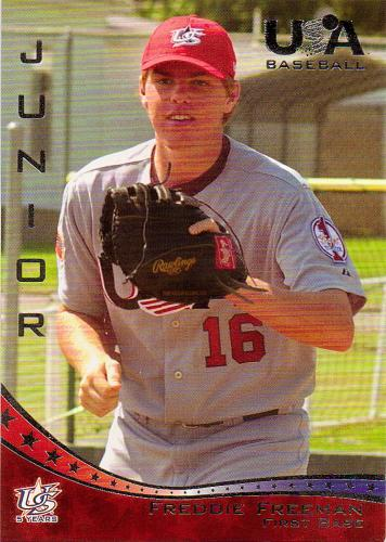 2006-07 USA Baseball #44 ~ Freddie Freeman