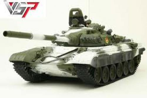Russian T72 RC toy tank