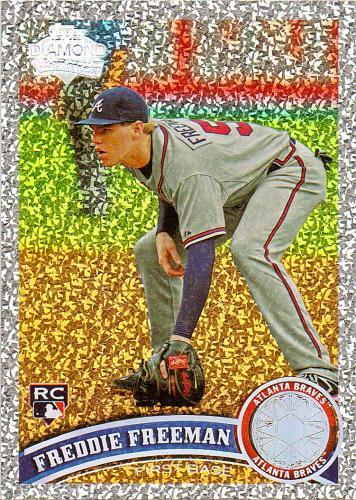 2011 Topps Diamond Anniversary #145 ~ Freddie Freeman RC
