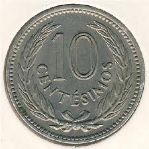 Coins;  Uruguay, 50 centesimos, 1943